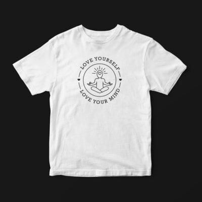 HSH-LoveYourselfTshirt-White